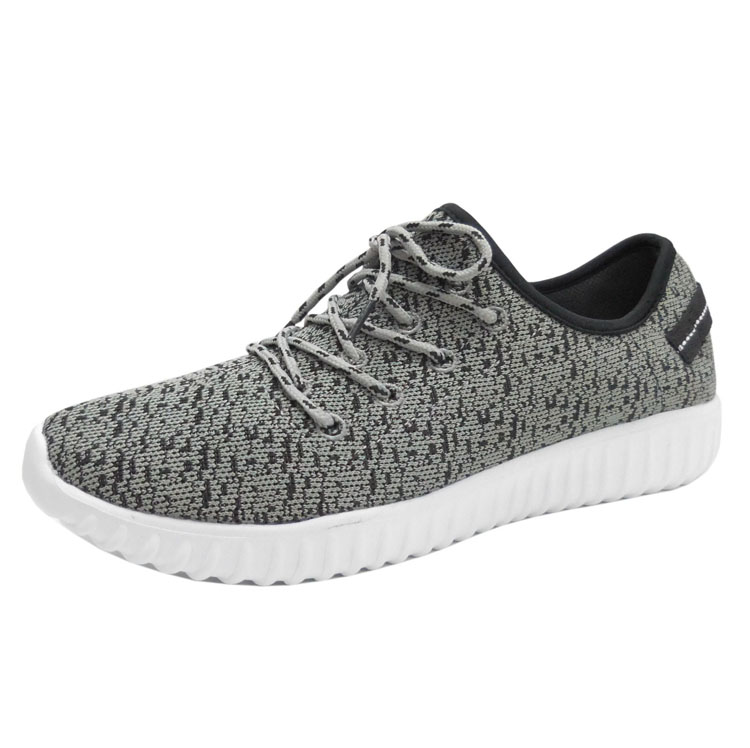Cheap casual shoes mens fly knit sport shoes