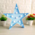 3 Colors Led Night Light Warm White Star Christmas Tree Table Lamps For Kids Children Gift Party Wedding Room Decoration