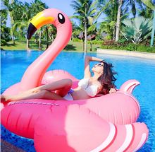 Best-selling Inflatable Pink Flamingo water fun pool toys for sale