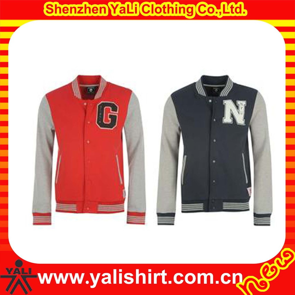 high fashion custom patch button front fleece china sports clothing manufacturer