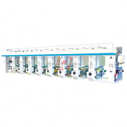 LRAY-800 High efficiency roto electronic gravure printing machine
