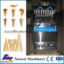 Stainless steel pizza cone machine,industrial waffle cone machine,machine for making ice cream cone