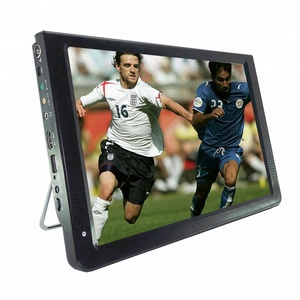 12 inch Portable Digital Car LCD TV with DVBT2,ATSC,ISDB and Analog