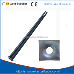 safty approved shuowei mining 42dia friction,rock,roof,split set,L & R anchor bolt