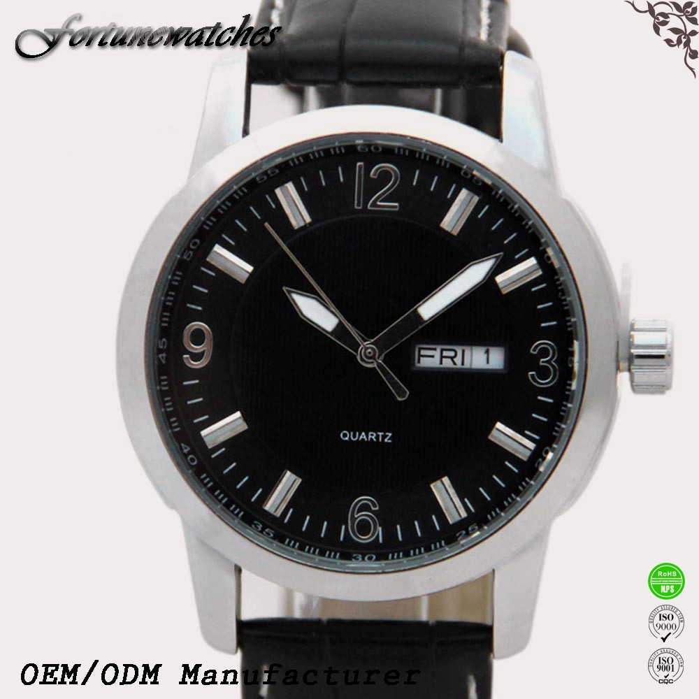 Japan movt quartz stainless steel back watch watch for man