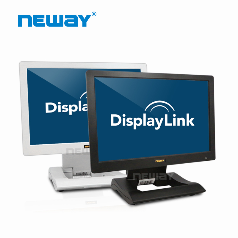 10.1 inch IPS panel widescreen USB touch LED monitor