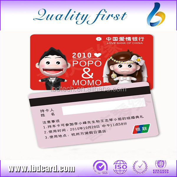 Blank Credit Cards with Magnetic Stripe