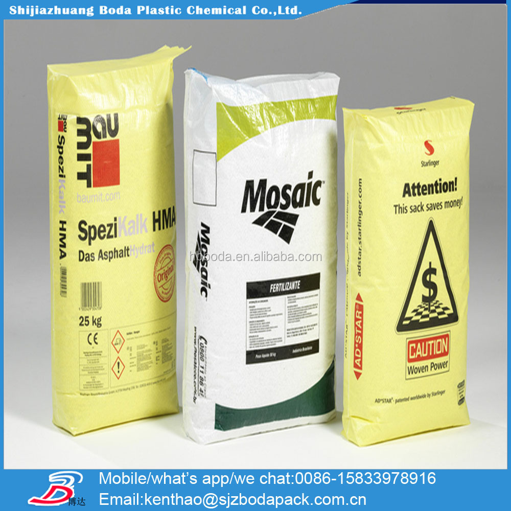 25kg to 50kg ad star starlinger lafarge pp cement sack/plastic cement packing bag