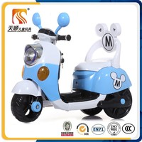 New models cheap plastic kids motorcycle with music and light