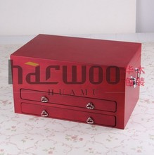 Elaborate clothes gift box from wooden box company