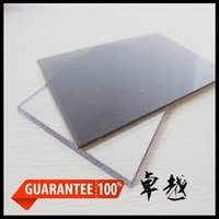 High Impact Strenghth UV coated solid polycarbonate roof sheet / polycarbonate plastic carports