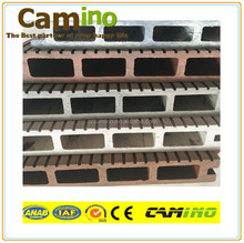 wpc crack-resistant composite decking exported to Mexico