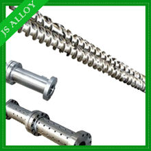 Cold feeding/Hot feeding screw and barrel design for rubber machine