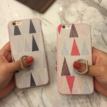 Simple triangle tpu mobile phone case, phone case for iphone