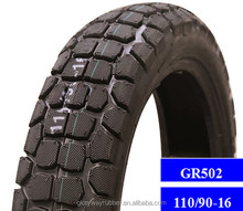 2016 New wholesale motorcycle tires 110/90-16 GR502