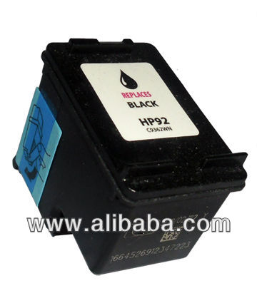 Remanufactured HP 92 Inkjet Cartridge