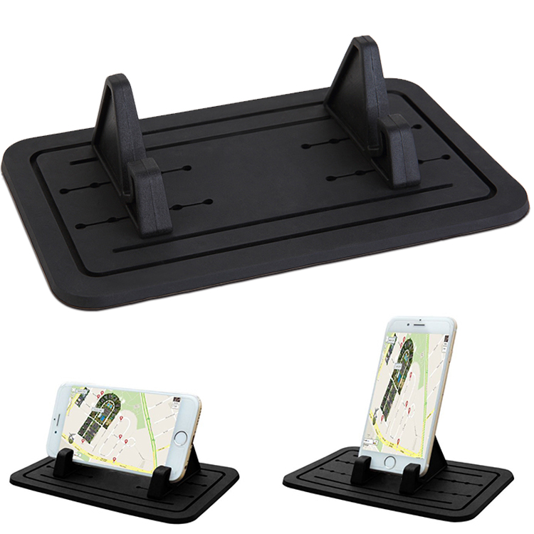 New Silicone Pad Dash Mat Cell Phone Car Mount Holder Desktop Cell Phone holder stand