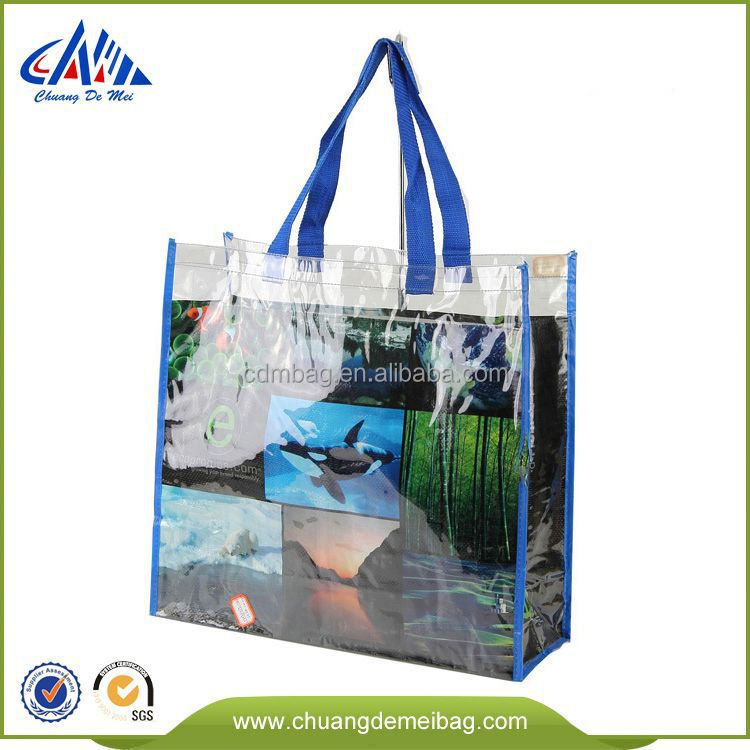 New Type Fashion Design and Good Price Pvc Pipe Handle Bag