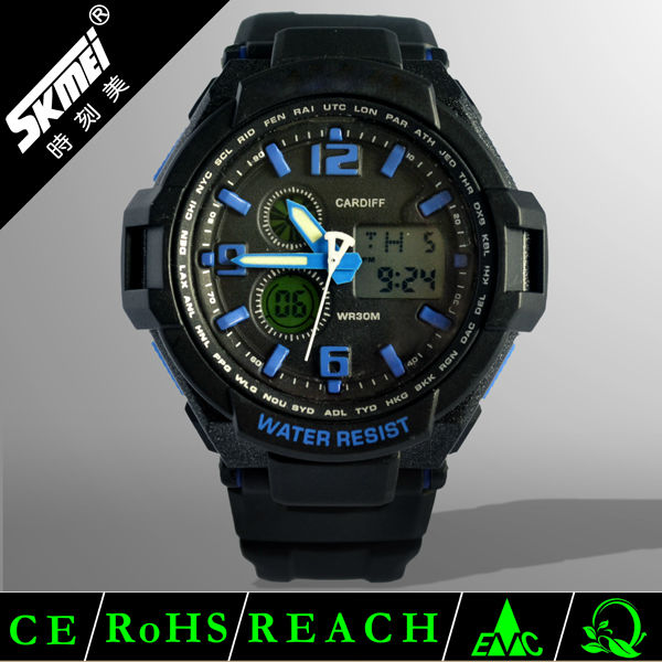 New products cool noctilucent color high tech digital watches
