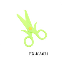 KA031 Plastic student scissors wholesale office scissors alat alat rumah tangga murah