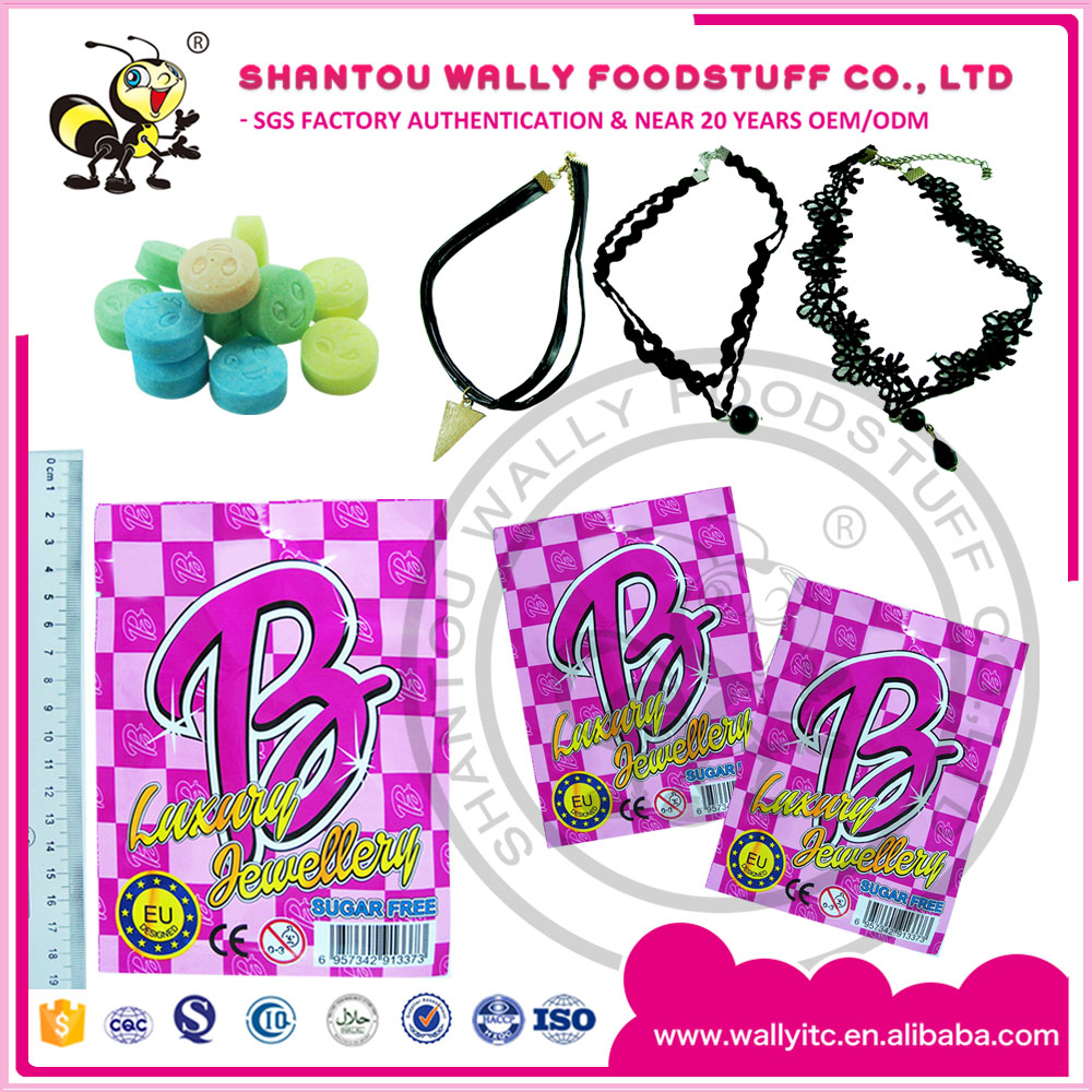 Fashion necklace with sugarfree candy /Choker Toy Candy