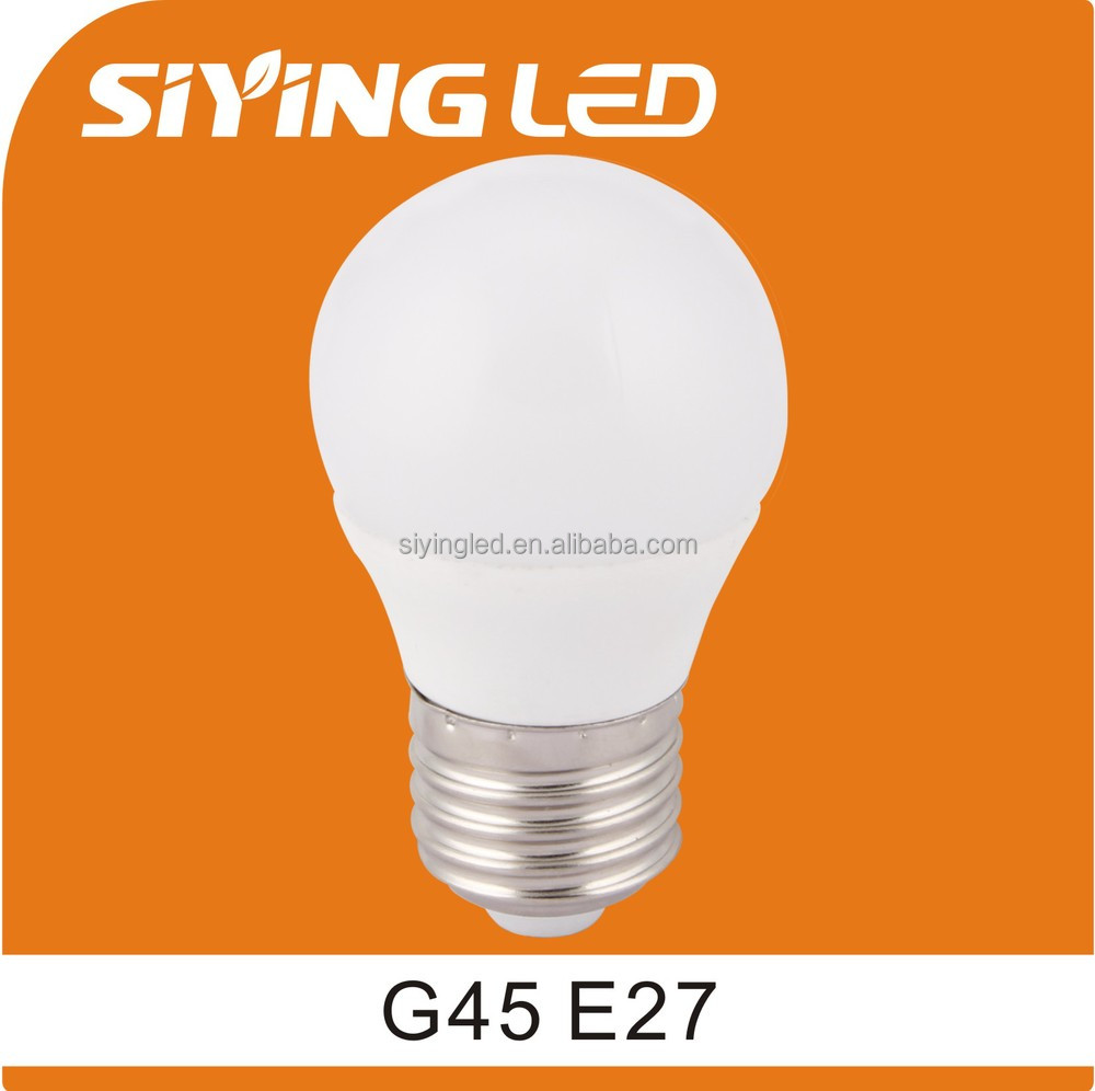 g45 led bulb wide angle ic driver led bulb 3w 5w 6w 7w