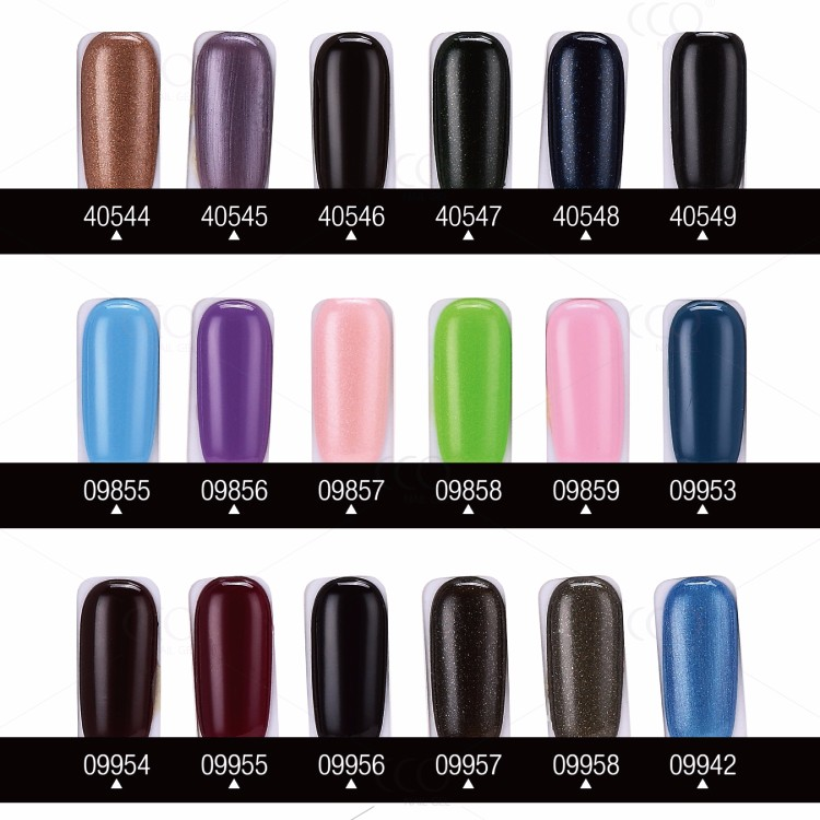 CCO Gel Nail Polish/gel uv Lacquer With 183 Colors