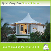 Well-designed Top Roof Recyclable New Style Modern House Design