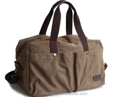 Fashion New Design Men's Canvas Travel Sports Bag