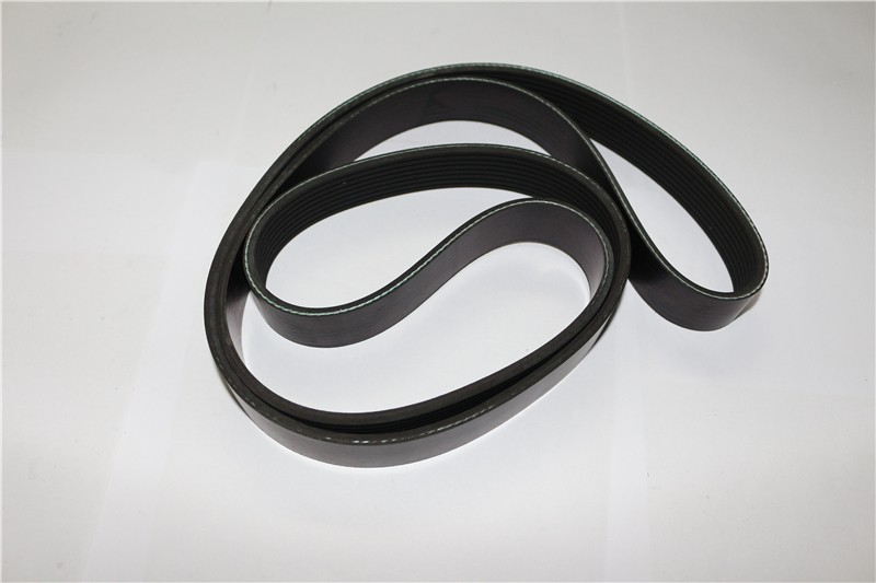 Rubber power drive belts for car engine