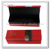 Fancy Paper Red Wine Box,Cardboard Wine Case,Paper wine gift box