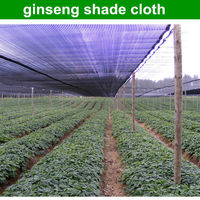 2014 china factory produce round wire shade net to cover ginseng with high quality shade cloth