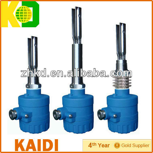 Vibrating fork water level surveying equipment
