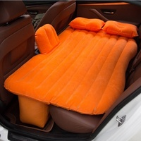 2019 hot selling in Amazon Car Air Filled SUV Seat Sleep Inflatable Air Bed Travel Outdoor Camping Car Air Mattress