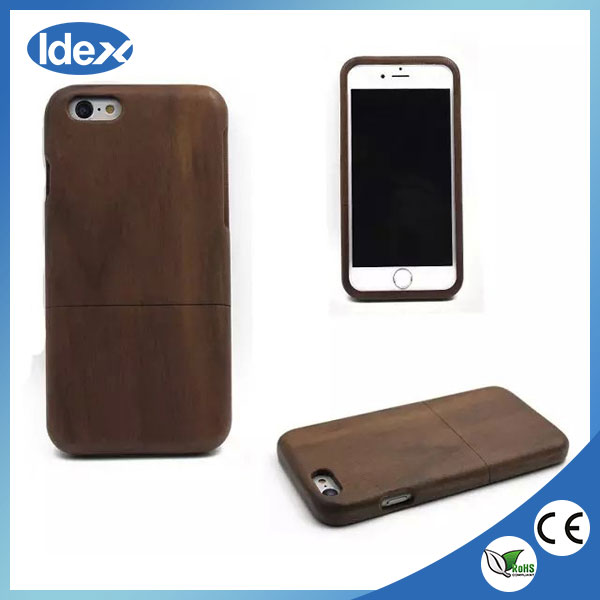 Wholesale Hard Nature wood case for iphone 6 free sample