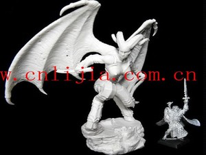 Hi quality plastic game miniatures for miniature game