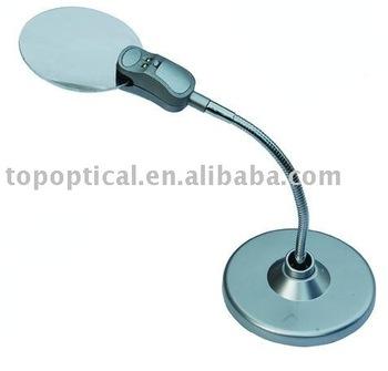 Illuminated Desktop Magnifier Magnifying Lamp Buy