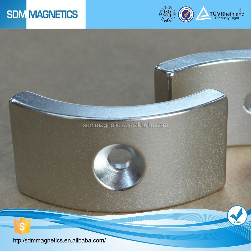 Rare earth large neodymium monopole magnets for sale
