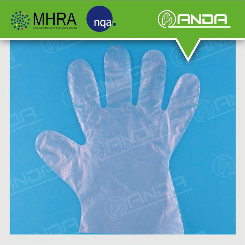 AD006 health products disposable items single use cheap plastic gloves