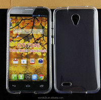 Dustproof ultra thin TPU case for Alcatel one touch Conquest