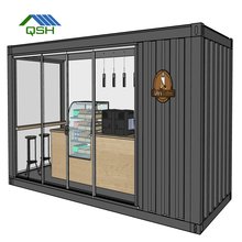 modular shipping container house for restaurant /coffee shop/container home