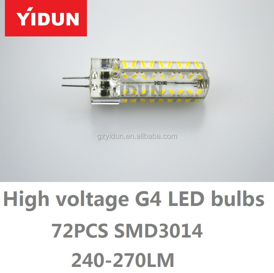 2015 hot selling 12V g4 led 1.5w g4 led bulb G4 LED light