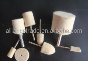 Wool Felt Polishing Wheel,Felt Bobs,Felt Polishing Tool
