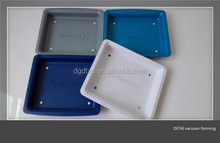 Customized thermoforming hard plastic trays