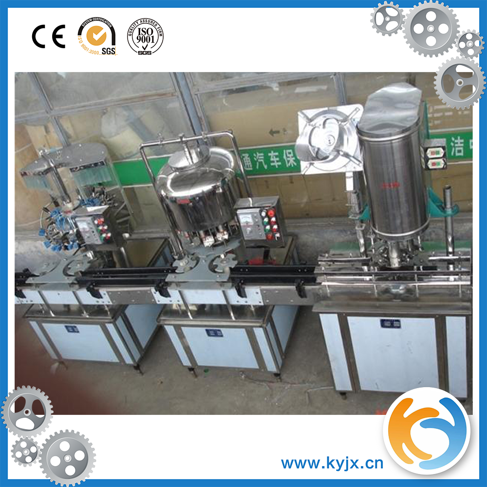 automatic plastic round bottle mineral water filling machine equipment