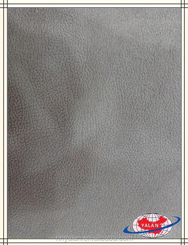 Embossed suede fabric with imitation of cotton for sofa/ upholstery