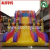 New Land rental service cheap inflatable slides for sale