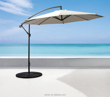 Outdoor Garden beach sun factory dia.3m steel hanging parasol