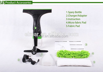 Cordless powerful easy clean window cleaner vacuum cleaner without chemicals