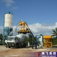 HZS25 Mini cement plant 25CBM per hour concrete mixing plant for sale